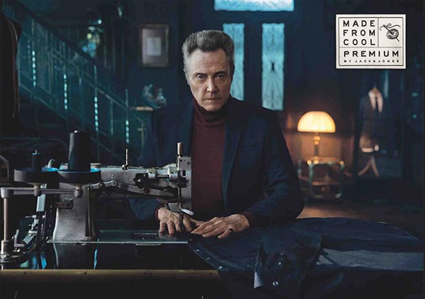magic ad campaign Christopher Walken Jack and Jones
