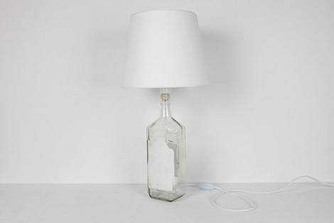 Maison Martin Margiela bottle table lamp