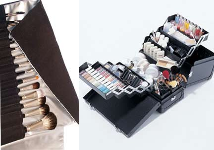 Makeup Storage and Makeup Brushes