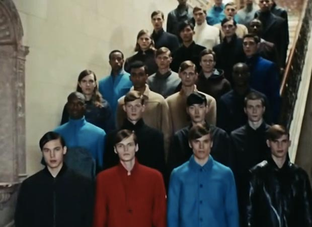 male models choir cover Daft Punk Pharrell Get Lucky