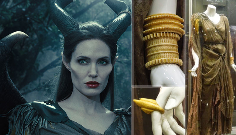 Maleficent Angelina Jolie Costume Details First Fight Scene