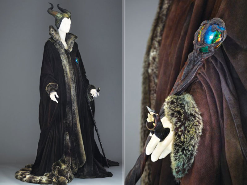 Maleficent Angelina Jolie winter costume