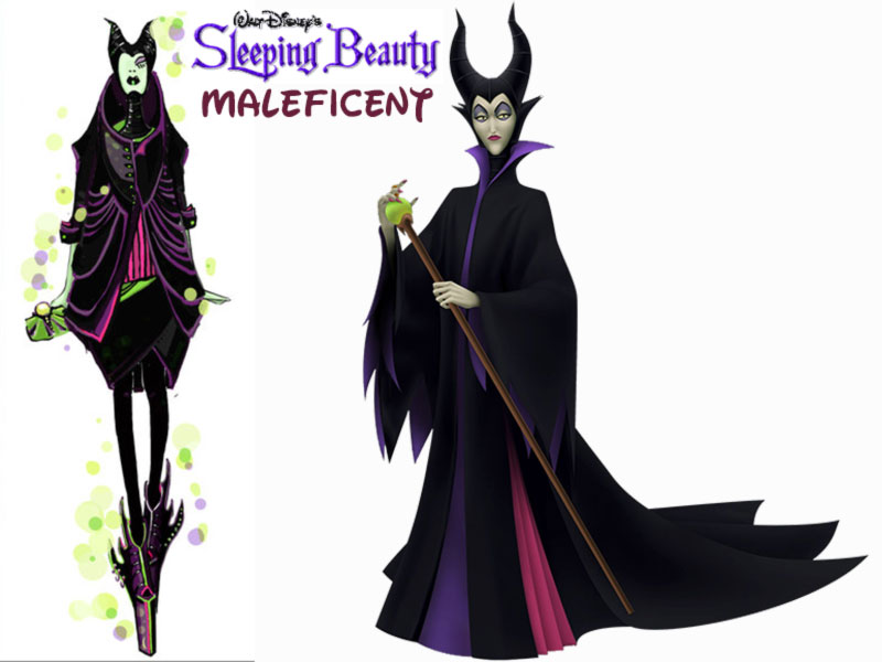 Maleficent fashion update Disney Sleeping Beauty