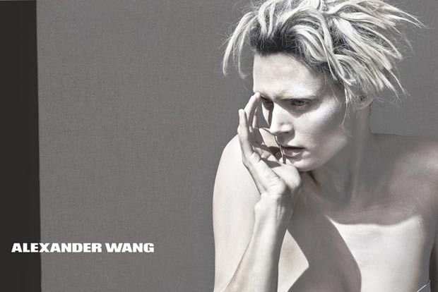 Whitewashed Malgosia Bela In Alexander Wang Spring 2013 Ad Campaign