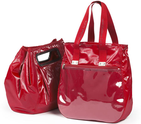 Mandarina Duck Red D-Bag Separated