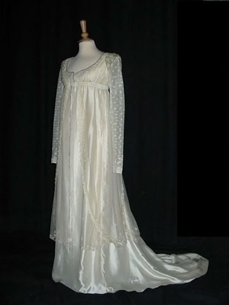 Mansfield Park movie wedding dress