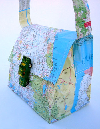 Get Yourself A Map Purse!