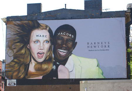 Marc Jacobs Ad Pane Manhattan
