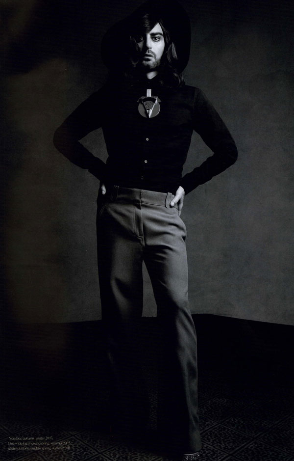 Marc Jacobs as a woman Industrie Magazine 2