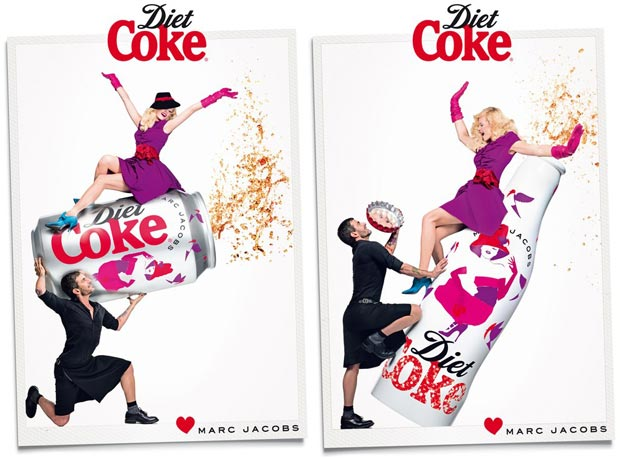 Marc Jacobs Diet Coke Anniversary campaign