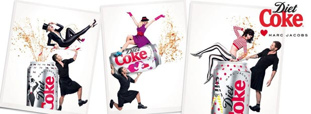 Marc Jacobs Diet Coke Anniversary designs