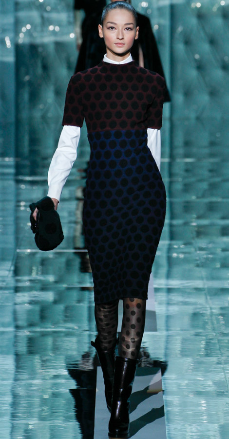 Marc Jacobs fall winter 2011 2012 collection Bruna Tenorio