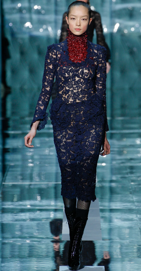 Marc Jacobs fall winter 2011 2012 collection Fei Fei Sun