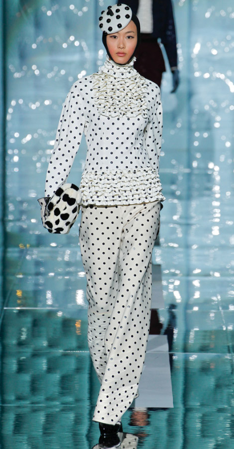 Marc Jacobs fall winter 2011 2012 collection Shu Pei Qin