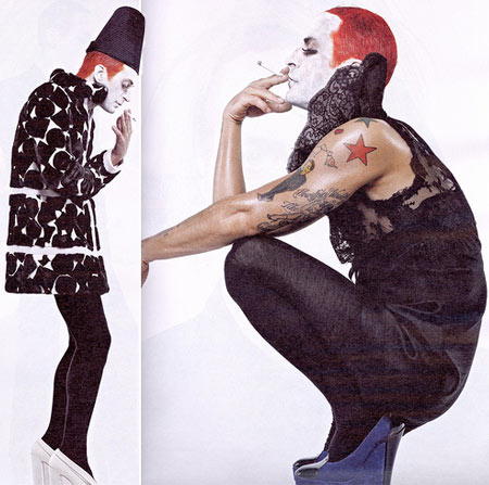 Marc Jacobs As Andy Warhol For Interview June/July 2008