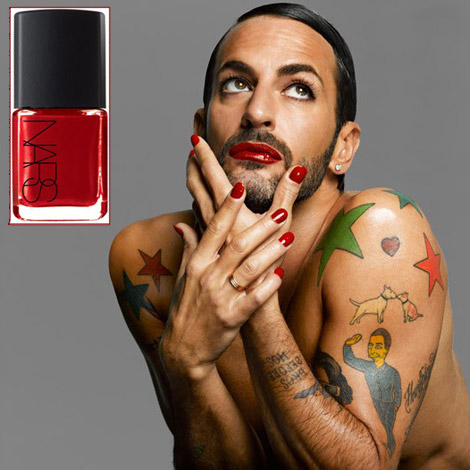 Marc Jacobs Nars Dovima Red Nail polish