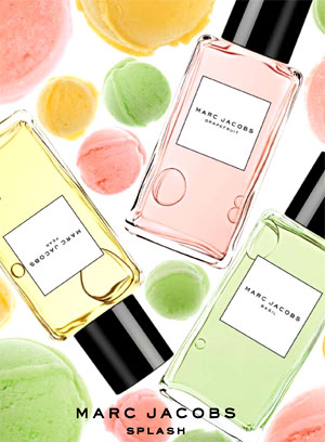 Marc Jacobs Splash Collection – Sorbet Fragrances