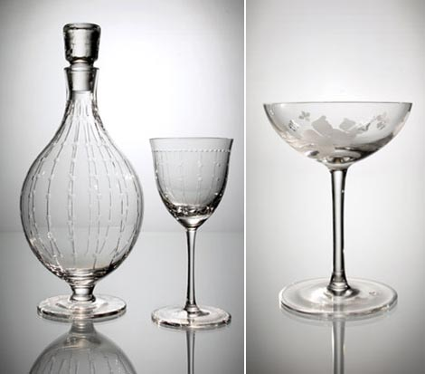 Marc Jacobs Waterford Crystal pieces