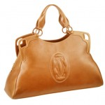 Marcello de Cartier large bag tobacco