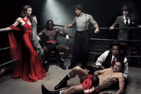 March Jessica Biel, Djimon Hounsou, Sylvester Stallone, Tobey Maguire, Robert Downey Jr, Forrest Whitaker