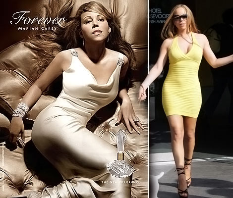 Mariah Carey's Forever Perfume Ad