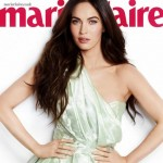 Marie Claire UK cover Megan Fox