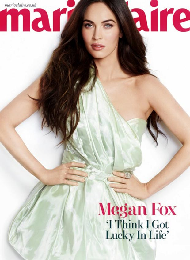 Megan Fox Is Back: Marie Claire UK March 2013