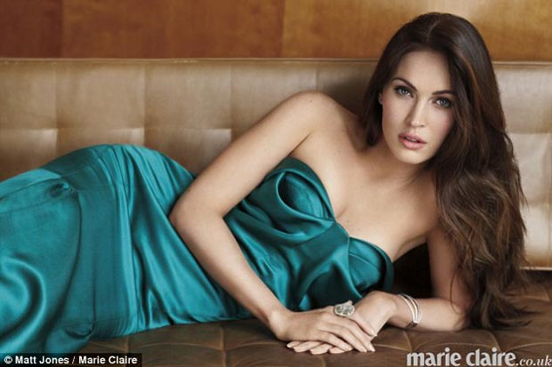 Marie Claire UK Megan Fox pictorial