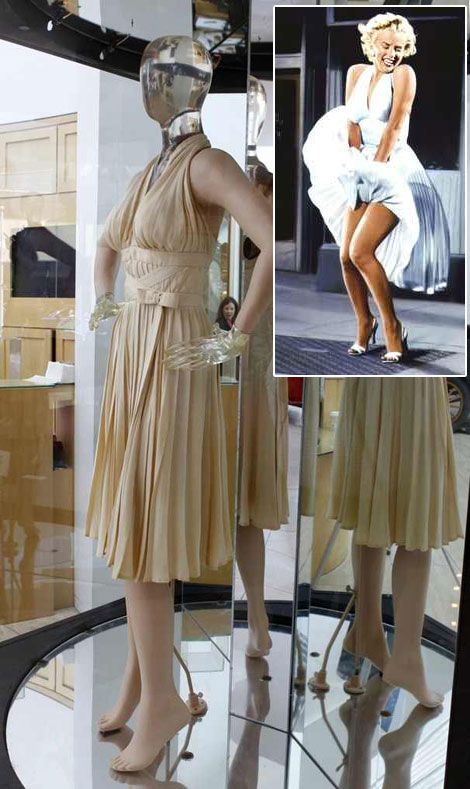 Marilyn Monroe s Subway dress auction