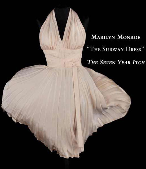 Marilyn Monroe Seven Year Itch iconic dress