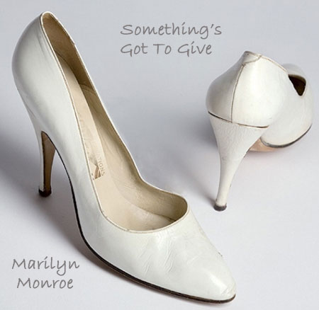 Marilyn Monroe shoes Something s Got to Give