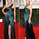 Marion Cotillard Dior dress Golden Globes 2010
