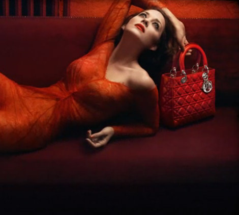 Marion Cotillard Dior Lady Rouge Ad