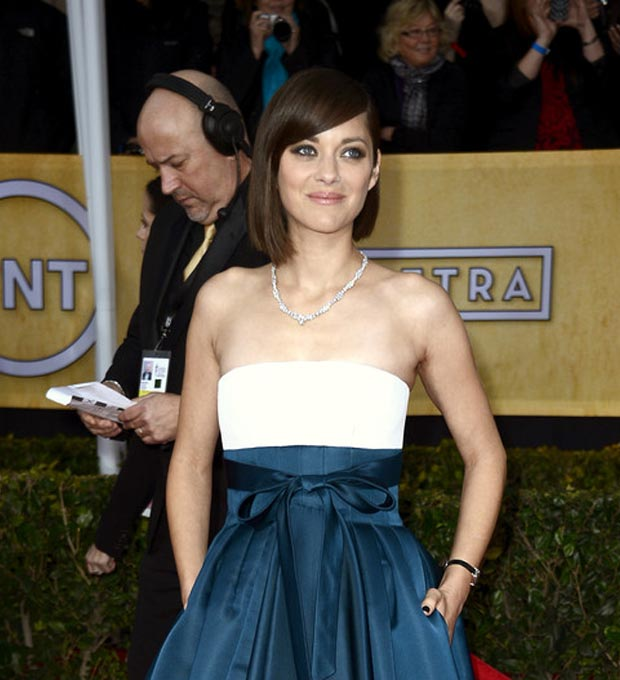 Marion Cotillard hair 2013 SAG Awards