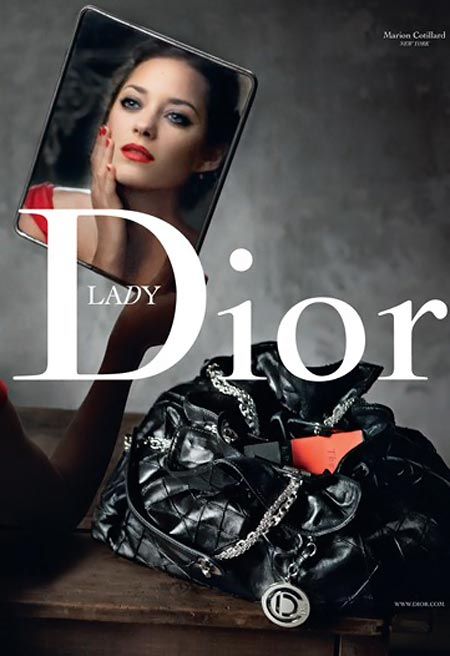Marion Cotillard Is Dior's Lady Red By Annie Leibovitz