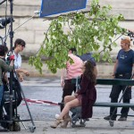 Marion Cotillard Miss Dior fall 2011 ad campaign shooting scene