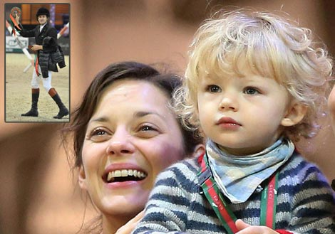 Marion Cotillard son Marcel is the cuteness