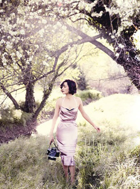 Marion Cotillard Vogue US July 2010 Testino