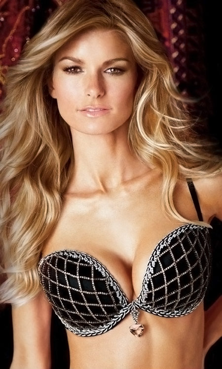 Victoria's Secret $3 Million Diamonds Fantasy Bra On Marisa Miller