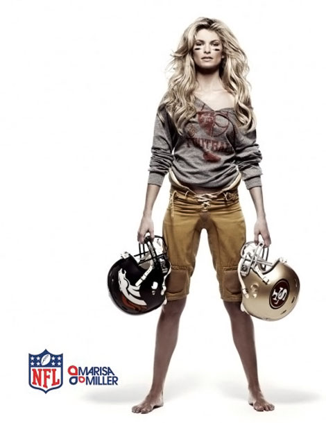 Marisa Miller From Victoria's Secret To NFL