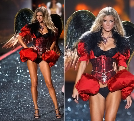 Marisa Miller's Victoria's Secret 2009 Fashion Show