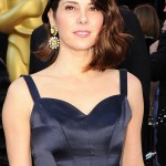 Marisa Tomei blue Charles James dress 2011 Oscars 3