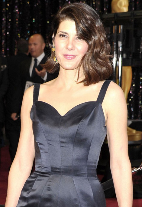 Marisa Tomei blue dress 2011 Oscars