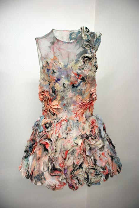 Marit Fujiwara Textile collection dress