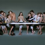 Marithe Francois Girbaud last supper ad