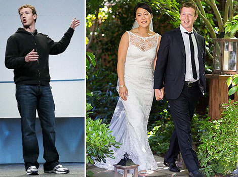 Mark Zuckerberg s fashion from hoodie to suit