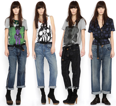 Marni Current Elliott Jeans Collection Fall Winter 2010