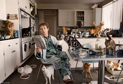 Martin Short cats Vanity Fair January 2013