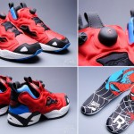 Marvel Reebok sneakers Spiderman