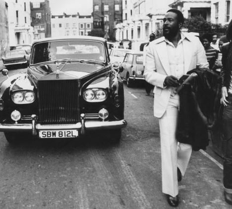 Marvin Gaye bw photo